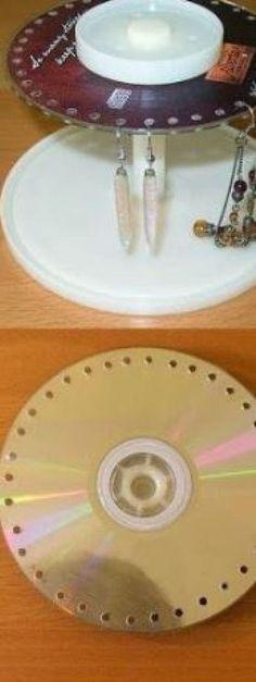 10 façons amusantes de recycler de vieux CD... Certains projets vous surprendront! - Bricolages - Trucs et Bricolages