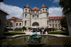 Innenhof bayrisches Nationalmuseums