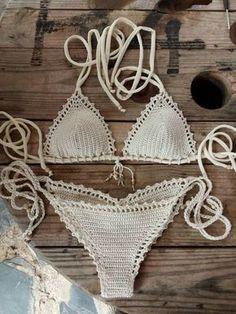 326bed6666 Capheira Ready made Bikinis Crochet Bikini Top por CapitanaUncino Bikini  Crochet Patron