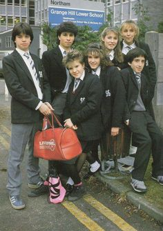 Grange hill...I was not allowed to watch this, the characters were 'naughty and rude to teachers' lol