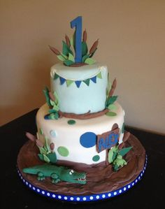 Down in the Bayou - Cake by Misty
