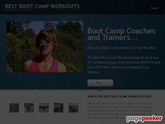Cool Best Boot Camp Workouts | A Boot Camp Coach's Bible