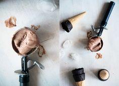 Receta de helado de chocolate casero paso a paso - CharHadas.com