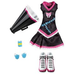 Monster High Ghoul Spirit Fearleading Frankie Stein Fashion Pack
