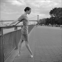 ballerinaproject:  Brittney - East River Park Help the continuation of the Ballerina Project Follow the Ballerina Project on Facebook, Insta...