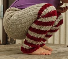 Woolpants for a child: a must-have in Finnish winter!