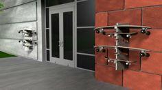 Skatedock rack suporte para seu skate - Clube do skate