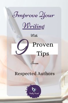 Improve your writing with these 9 tips from respected authors Writing Styles, Writing Advice, Writing A Book, Steven Pressfield, Good Grammar, Write Every Day, Authors, Writers, Improve Yourself