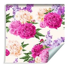Modern & Contemporary Floral Wallpaper You'll Love | Wayfair.co.uk Wallpaper Roll, Modern Contemporary, Wall Decor, Stage, Floral, Flowers, Pink, Cream, Amp