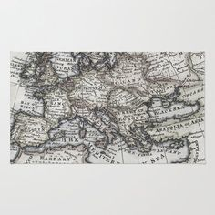 I will have a world map rug in my classroom i will education society6 old world map rug by upperleft studios gumiabroncs Images