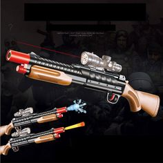 Infrared Toy Gun Plastic Paintball Sniper Rifle Gun Sniper Pistola Airsoft Water Ball Arme Arma Orbeez Toys For Children