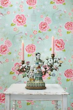nice colours for a #bedroom #wallpaper.