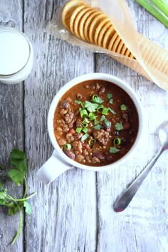 Venison and Bean Chili