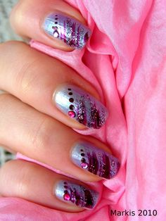 Bejeweled nails!!