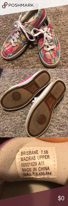 Ralph Lauren shoes Worn only a few times, very clean! Ralph Lauren Shoes Sneakers
