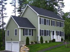 Best Houses With Green Siding 640 x 480