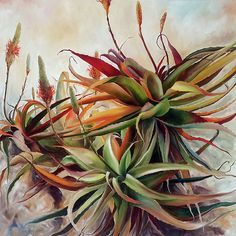 'Vera' Oil on canvas x By Ellie Eburne Plant Painting, Fabric Painting, List Of Paintings, Plant Wallpaper, Botanical Art, Painting Inspiration, Flower Art, Art Photography, Illustration Art
