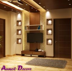 Wall panel with light arrangements....