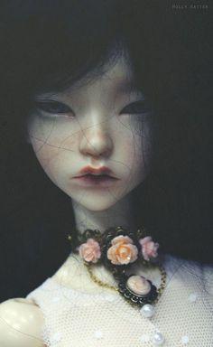 Ldoll 4 - Marie Tonk's doll by Holly Hatter Enchanted Doll, Ooak Dolls, Blythe Dolls, Arte Obscura, Ball Hairstyles, Gothic Dolls, Realistic Dolls, Arte Horror, Creepy Dolls