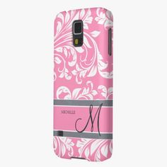 Love it! This Bubblegum Pink and white floral damask w/ monogram Samsung Galaxy Nexus Cases is completely customizable and ready to be personalized or purchased as is. It's a perfect gift for you or your friends.