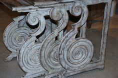 Hooker Furniture Rhapsody ... Grand Scale... Beautiful Scroll! http://www.thehome.com/small-spaces-to-overscaled-opposites-attract/  #hpmkt