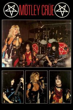 Motley Crue shout at the devil era! 80s Hair Metal, Hair Metal Bands, 80s Hair Bands, Nikki Sixx, Girls Girls Girls, Rock N Roll, Musica Metal, Mundo Musical, Vince Neil