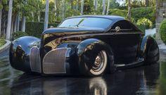 1939 Lincoln Zephyr Scrape