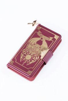 3bc6eaf1d86f52 Crow card book book type smartphone case (for 5 / 5s) smart case cardcaptor