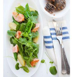Stripes + Salad