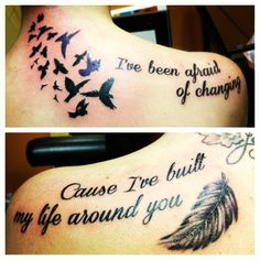 Sister tattoo together forever never apart for Mac tattoo my heart