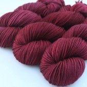 Squoosh Fiberarts; yummy red color.