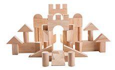 Plan Toys 50 Unit Blocks 5502