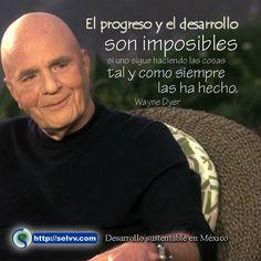 Dr Wayne Dyer frases español el estado de tu vida es un reflejo - Google Search