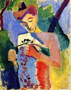 The Athenaeum - Branch of Flowers (Henri Matisse - No dates listed)