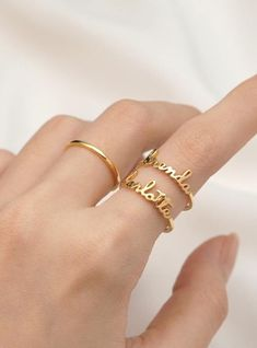 Stackable Name Rings • Personalized Name Ring • Minimalist Ring • Personalized Stacking Ring • Custom Name Ring • Personalized Stackable Rings • Ring With Name • Custom Ring • Stackable Personalized Rings • Stackable Mother Ring • Stackable Ring Set • Mothers Day Jewelry • Mothers Day Gift • Mothers Day Gift Ideas • Mothers Day Gift For Mom • Mothers Day Ring • Mothers Day Gift Jewelry • Personalized Mothers Day Gifts • Mothers Day Birthstone Ring Birthday Gifts For Best Friend, Valentines Gifts For Her, Best Friend Gifts, Gifts For Friends, Gifts For Mom, Personalized Graduation Gifts, Personalized Gifts For Her, Personalized Rings, Handmade Gifts