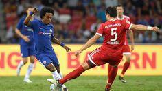 International Champions Cup: Die schönsten Fotos vom Testspiel gegen den FC Chelsea in Singapur.