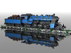 Train Lego Design, Lego Technic, Lego Track, Lego Kits, Lego Boards, Lego Mechs, Lego Minecraft, Lego Models, Custom Lego