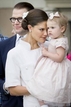 Queen & Princesses Watchers: Réception dans la cour du palais royal, Stockholm
