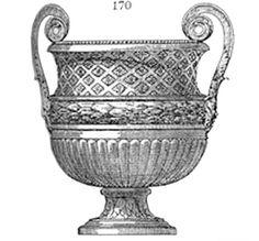Val d'Osne Art Foundries Society, Album # 2 - Art Cast iron, Vases and cups : Pl. Cast Iron, Vases, Cups, Album, Statue, Antiques, Classic, Art, Antiquities
