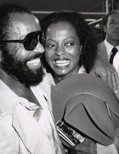 Berry Gordy and Diana Ross circa 1979