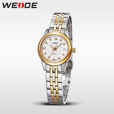Top Sale WEIDE Gold Watch Women Brand Sapphire Window Quartz Watch Top Luxury Brand Waterproof Dress Rhinestone Watches WG93009G