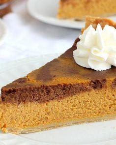 Chocolate Pumpkin Pie Recipe