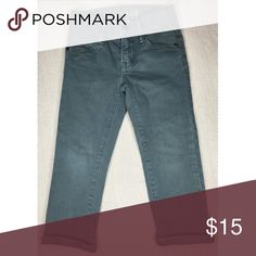 Kids clothing-well taken care of with zero stains 1969 Supersoft Denim Slim Jean - color is more like a slate blue/gray GAP Bottoms Jeans