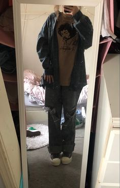 Indie Outfits, Retro Outfits, Grunge Outfits, Cool Outfits, Casual Outfits, Fashion Outfits, Tomboy Fashion, Streetwear Fashion, Estilo Indie
