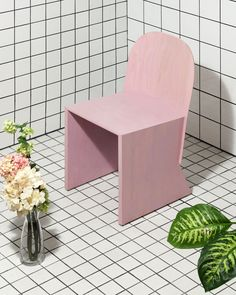 Knauf & Brown designed this chair exclusively for Blacktail Florist restaurant (and its sister lounge, Kanaka) in Gastown, Vancouver, Canada.