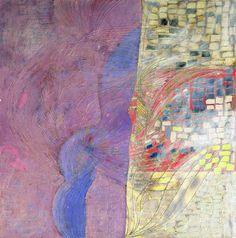 Year: 2010-2011 - Information: Oil on canvas, mixed media painting process, 150x150 cm