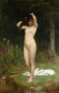 A Woodland Nymph  Philip Hermogenes Calderon