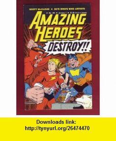 Amazing Heroes (DCs Whos Who Artists, #109, January 1, 1987) Scott McCloud ,   ,  , ASIN: B000P0LUJA , tutorials , pdf , ebook , torrent , downloads , rapidshare , filesonic , hotfile , megaupload , fileserve