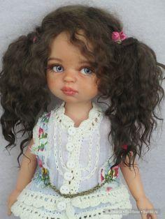 Анютка. ООАК куклы Паола Рейна / Paola Reina, Antonio Juan и другие испанские куклы / Бэйбики. Куклы фото. Одежда для кукол