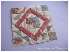 ebay l'atelier perdu quilt pattern | Farmer's Wife Sampler Quilt, Bloc 56 - Un atelier à la ...